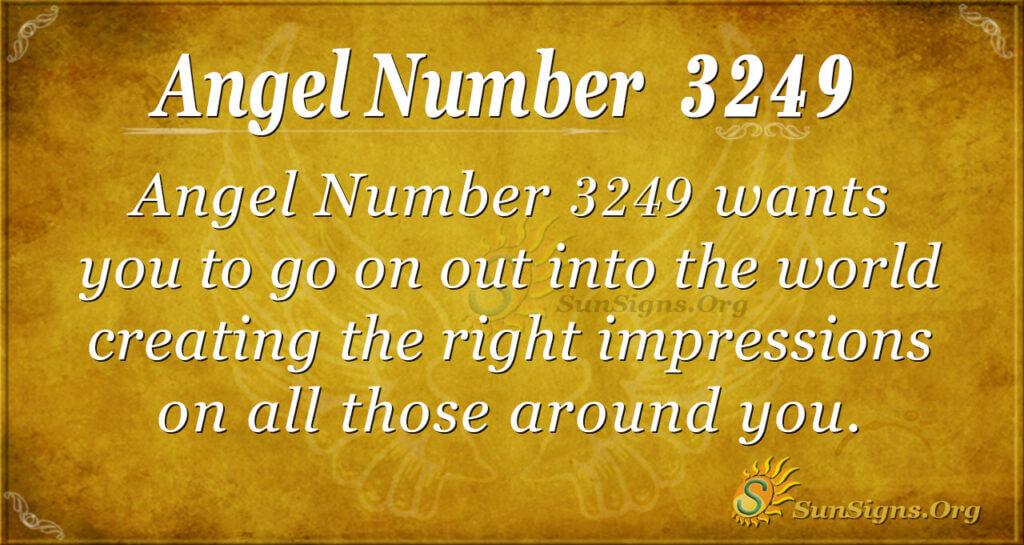 Angel Number 3249