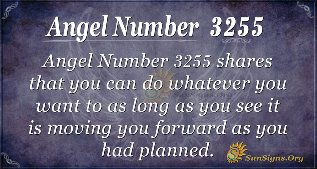 Angel Number 3255