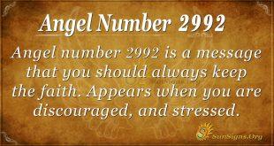 angel number 2992