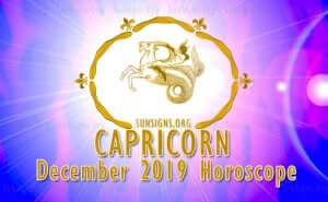 Capricorn December 2019 Horoscope