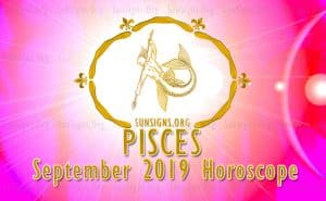 Pisces September 2019 Horoscope