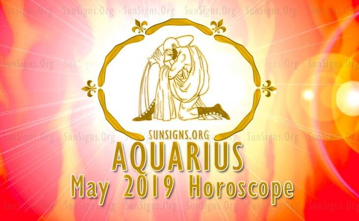 Aquarius May 2019 Horoscope