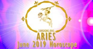 Aries June 2019 Horoscope