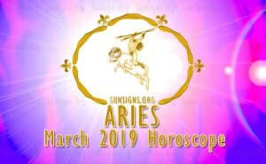 Aries March 2019 Horoscope