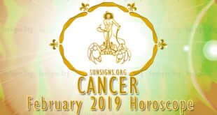 Cancer February 2019 Horoscope