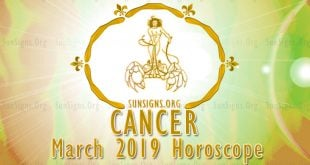Cancer March 2019 Horoscope