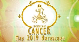 Cancer May 2019 Horoscope