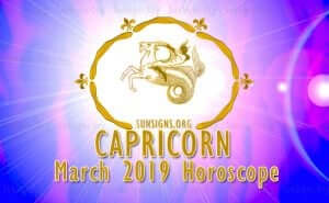 Capricorn March 2019 Horoscope