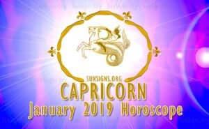Capricorn January 2019 Horoscope