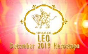 Leo December 2019 Horoscope