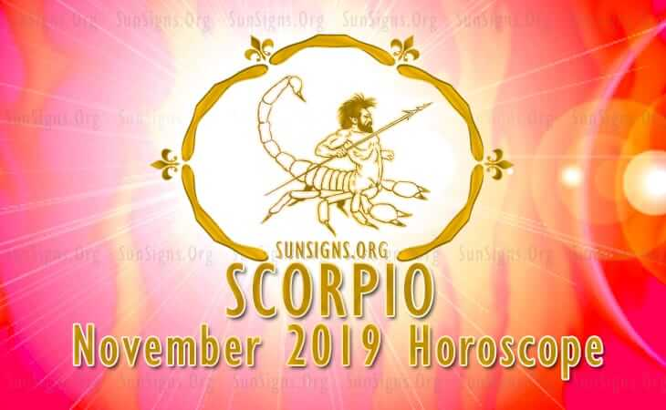 scorpio horoscope for november 6 2019