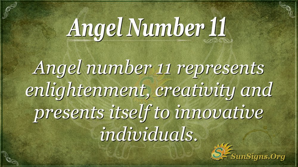 Angel Number 11
