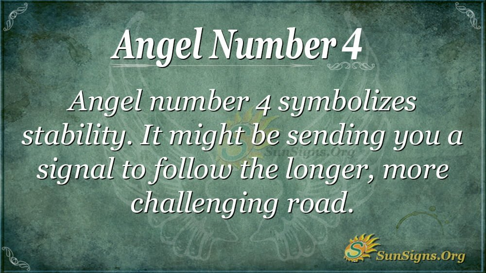Angel Number 4