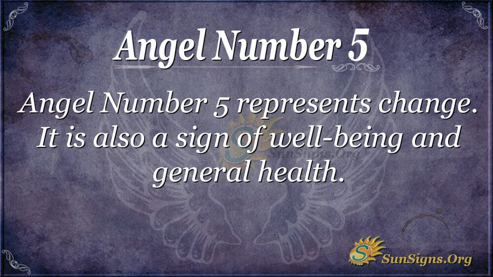 Angel Number 5 Meanings - Why Are You Seeing 5? | SunSigns Org