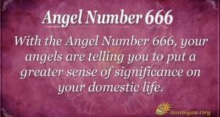 Angel Number 666