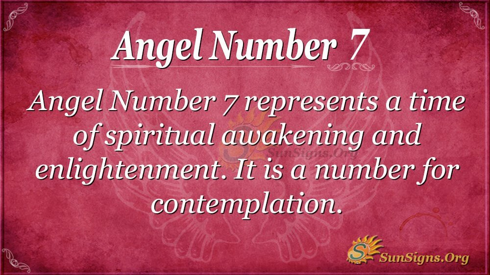 Angel Number 7 Meaning - Find Out Why It Is Appearing For