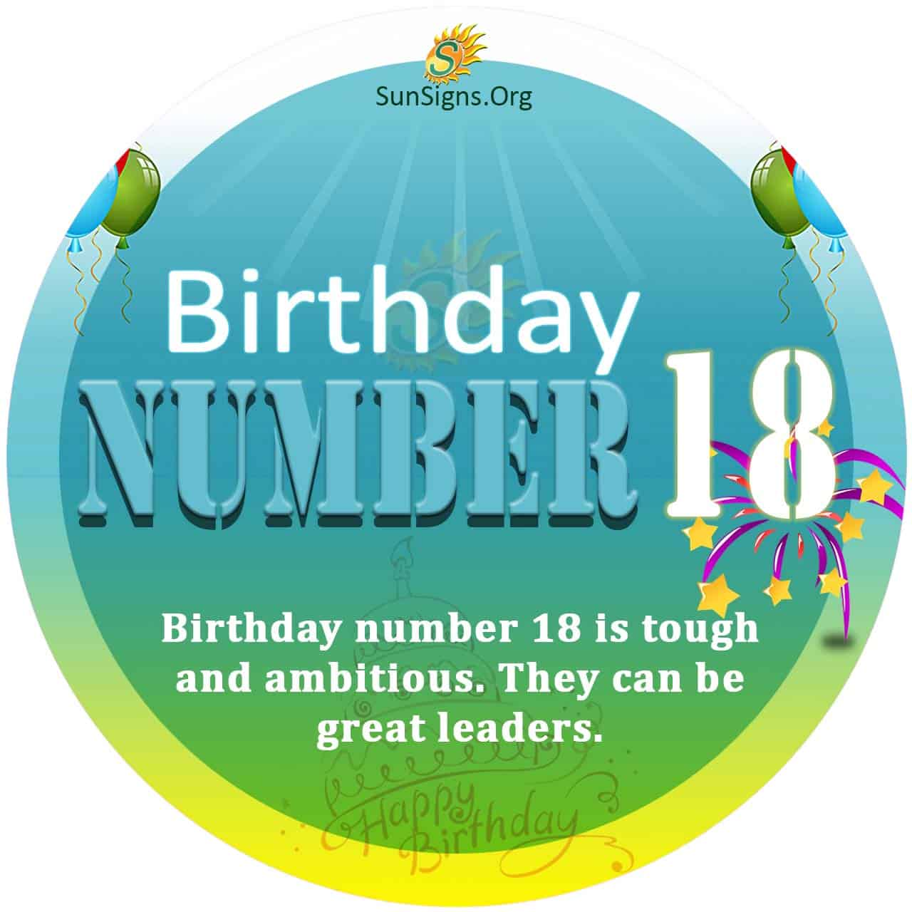numerology day number 18 january