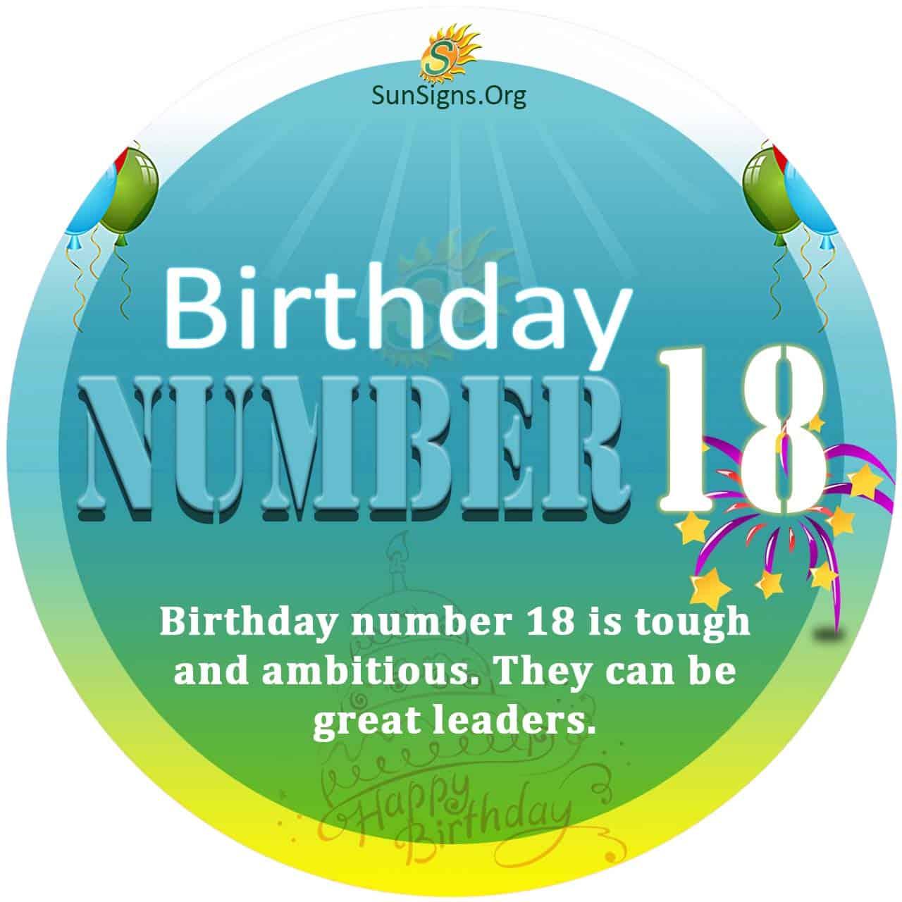numerology 18 february day