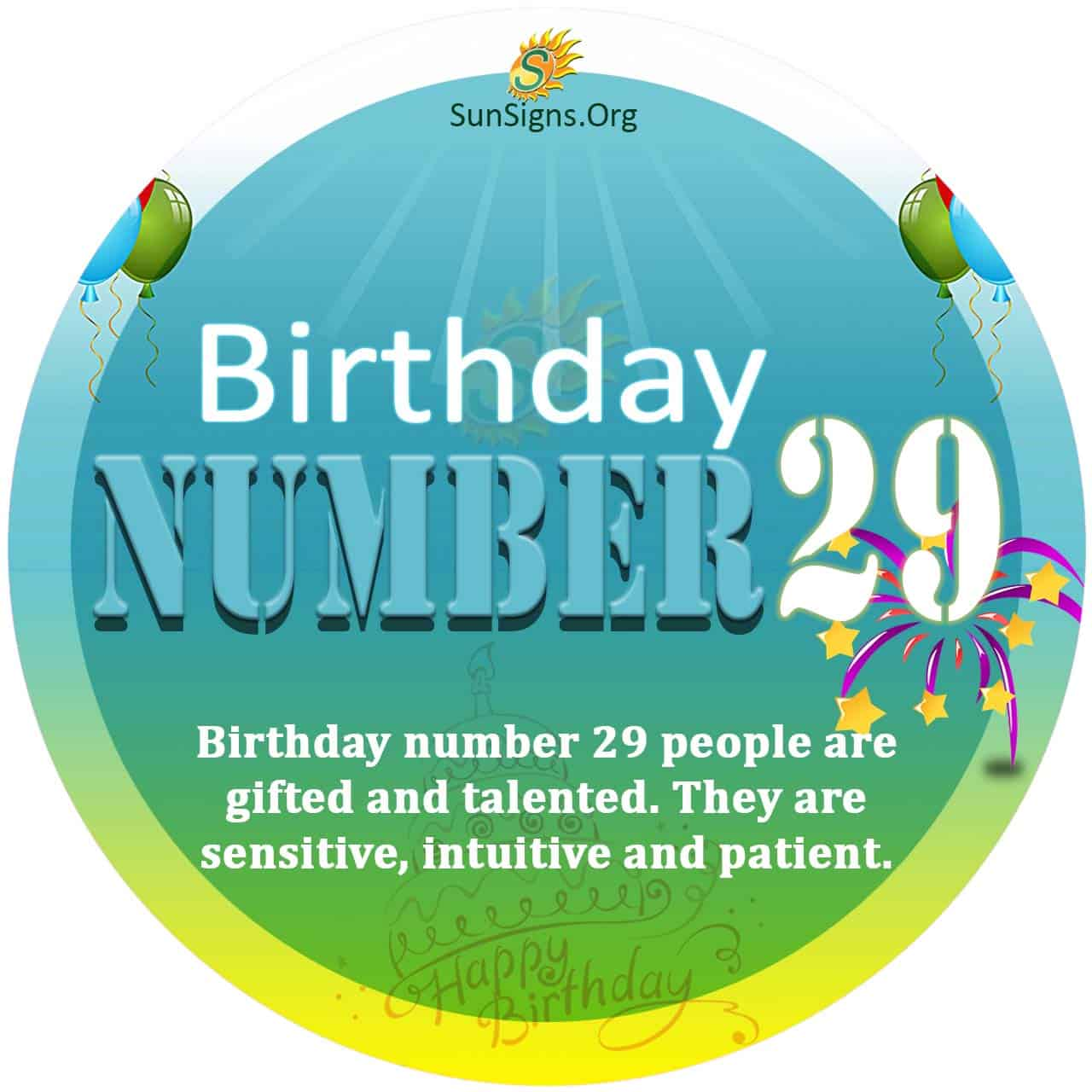 numerology 29 january day number