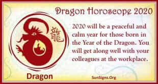 dragon horoscope 2020