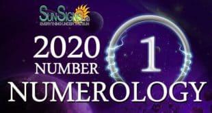 Number 1 - 2020 Numerology Horoscope