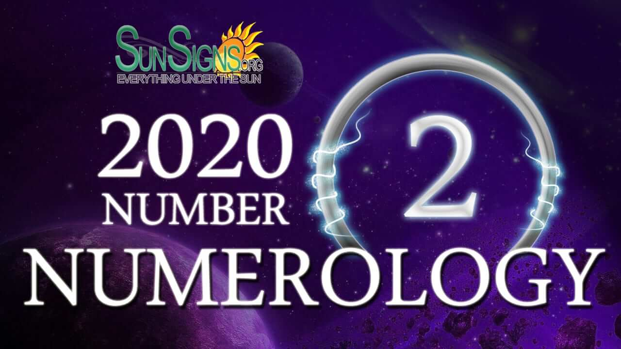 Numerology Horoscope 2020 for Number 2