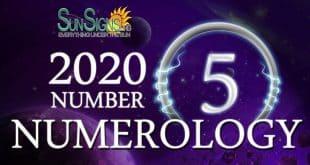 Number 5 - 2020 Numerology Horoscope