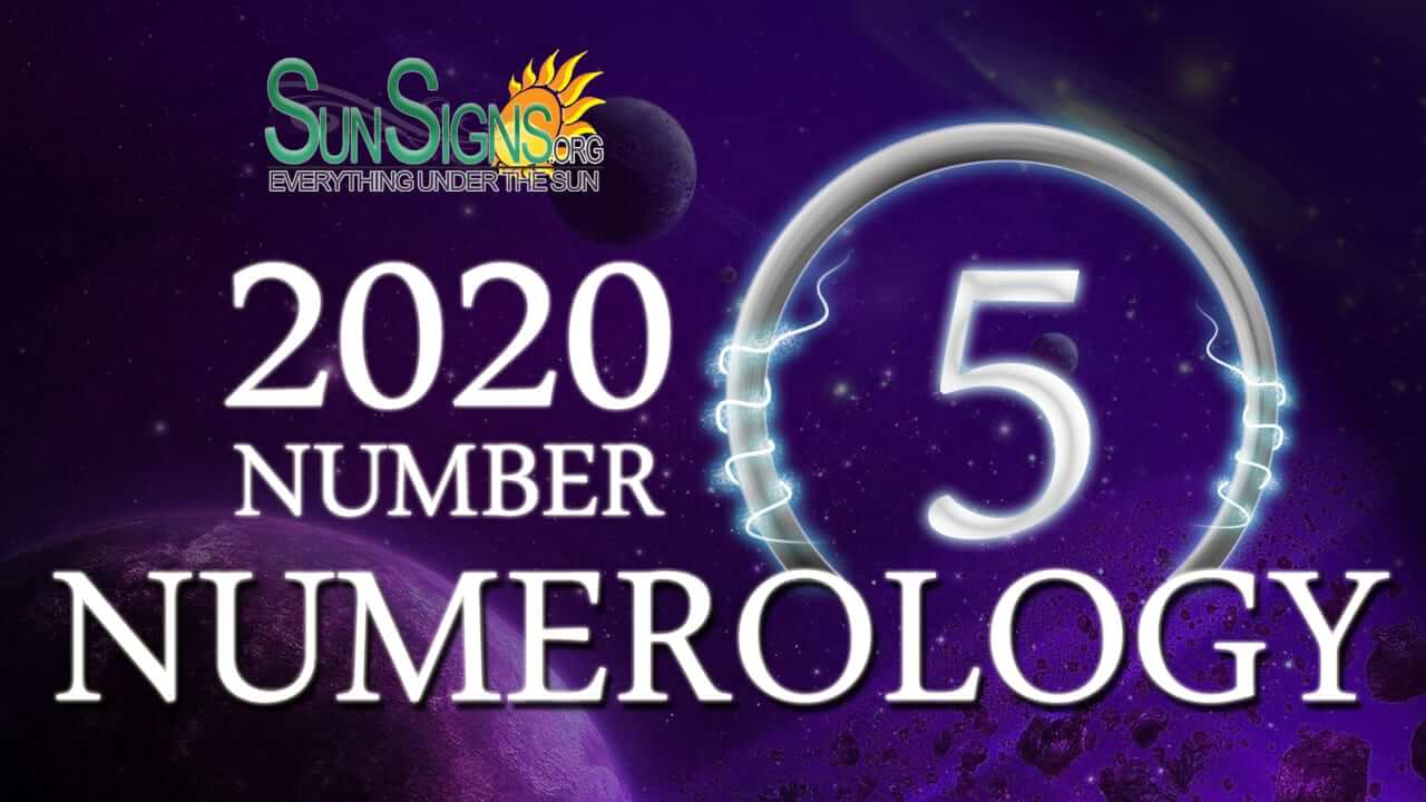 Numerology Horoscope 2020 for Number 5