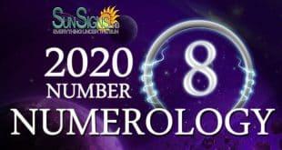 Number 8 - 2020 Numerology Horoscope
