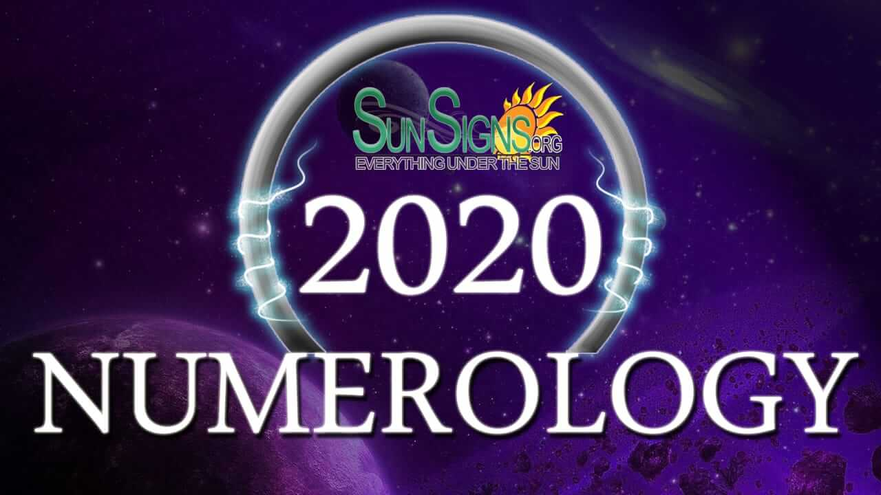 numerology horoscope 2020