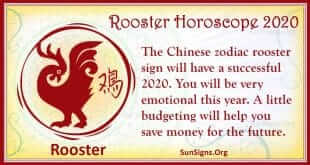 rooster horoscope 2020