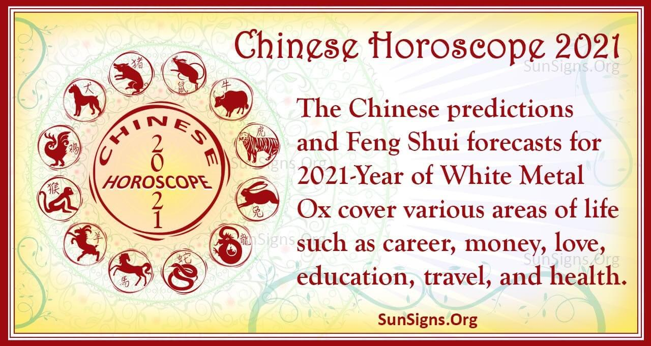 Chinese Horoscope 2021 Year Of The White Metal Ox Sunsigns Org