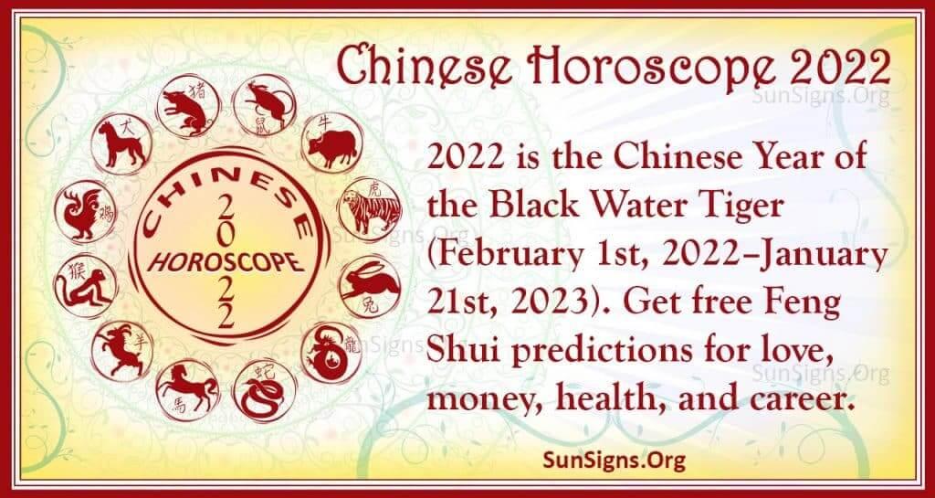 chinese horoscope 2022