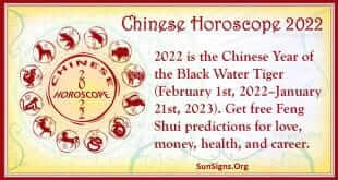 chinese horoscope 2022