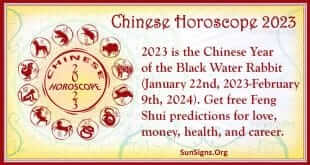 chinese horoscope 2023