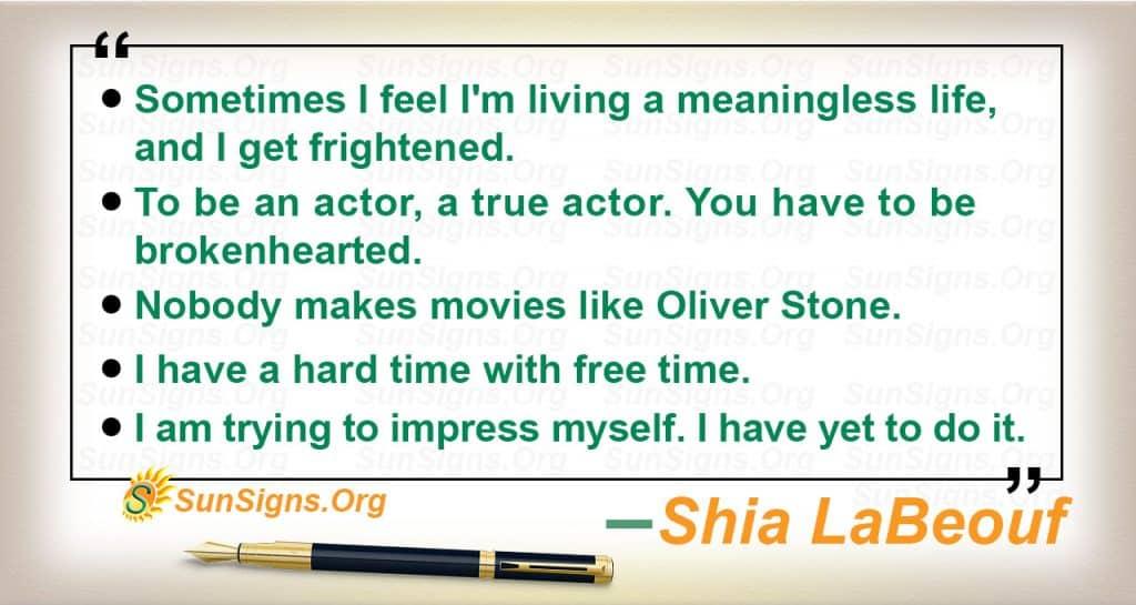 quote shia labeouf