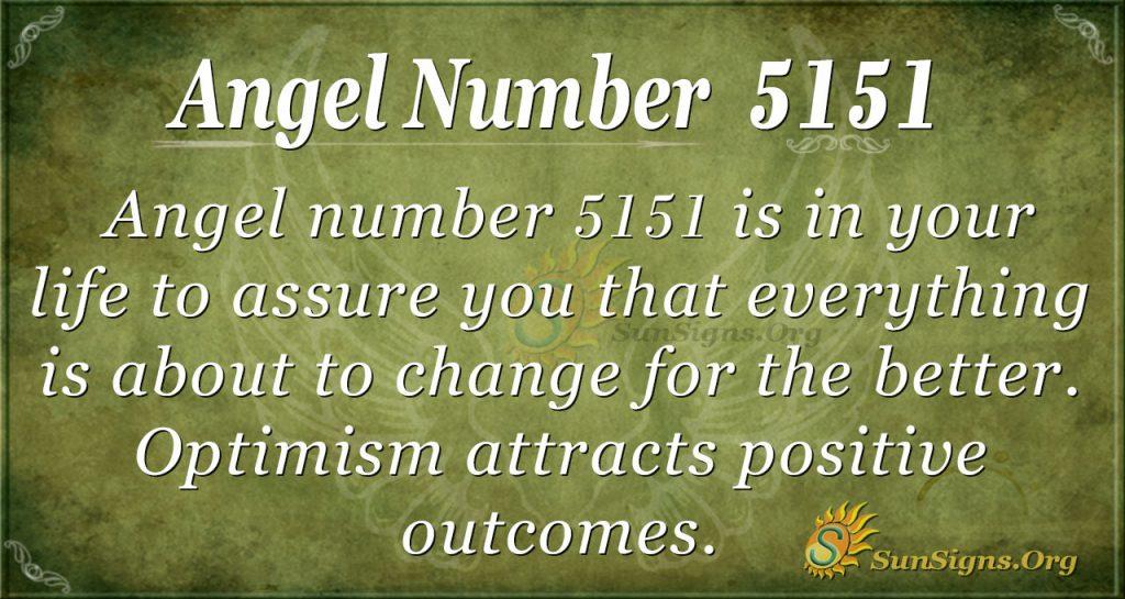 angel number 5151