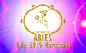 Aries July 2019 Horoscope