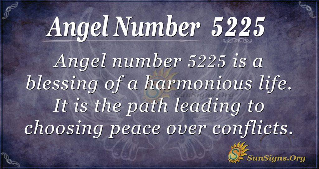 angel number 5225