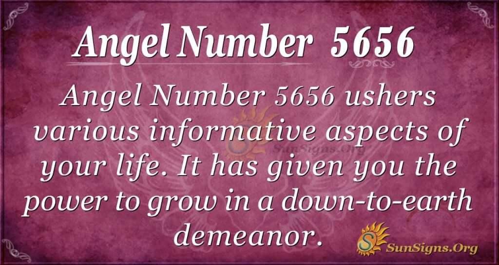 Angel Number 5656