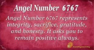 Angel Number 6767