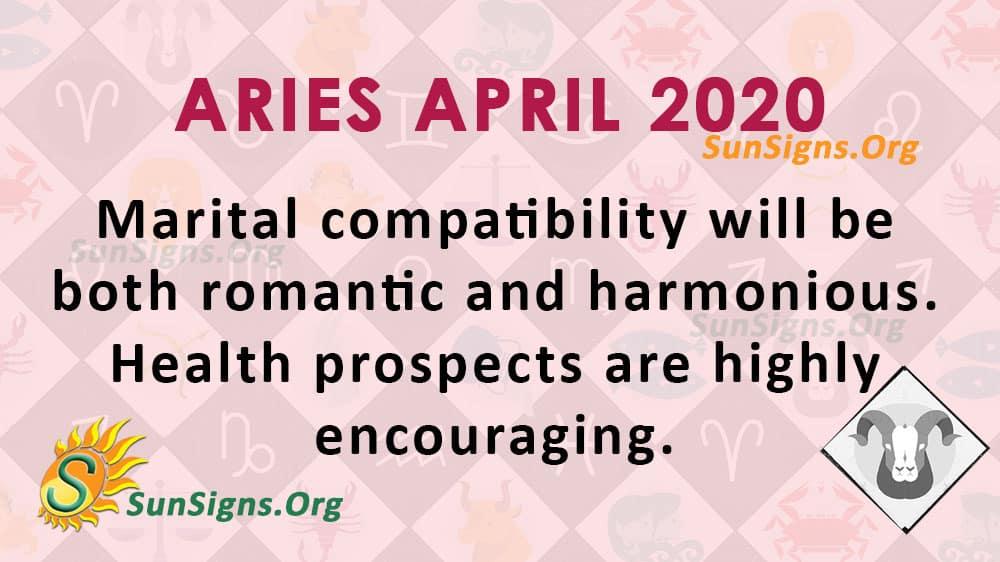 Aries April 2020 Horoscope