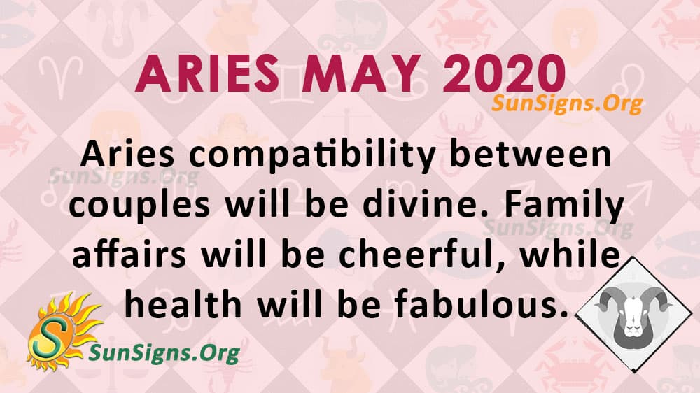 Aries May 2020 Horoscope
