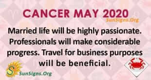 Cancer May 2020 Horoscope