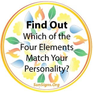 Which of the Four Elements Match Your Personality?