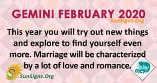 Gemini February 2020 Horoscope