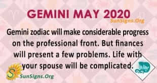 Gemini May 2020 Horoscope