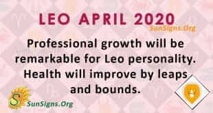 Leo April 2020 Horoscope