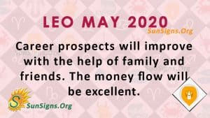 Leo May 2020 Horoscope