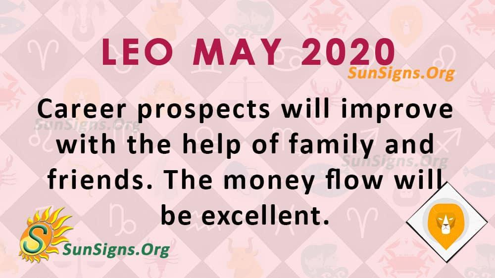 Leo May 2020 Horoscope